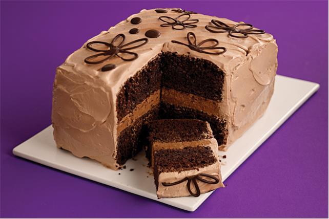 Mocha Layer Cake Image 1