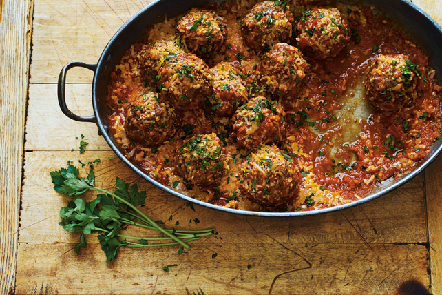 Handmade Four Cheese Meatballs Image 1