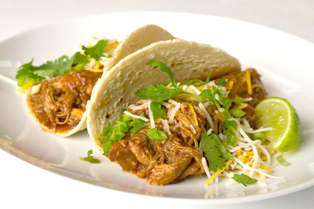 Shredded Slow-Cooker Pork Tacos Image 1
