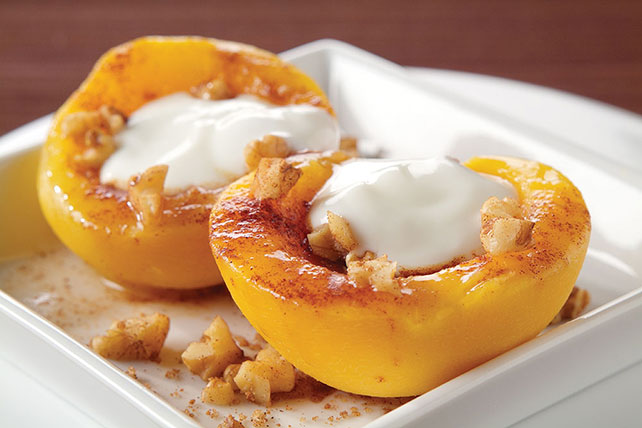 Cinnamon and Brown Sugar Peaches Image 1