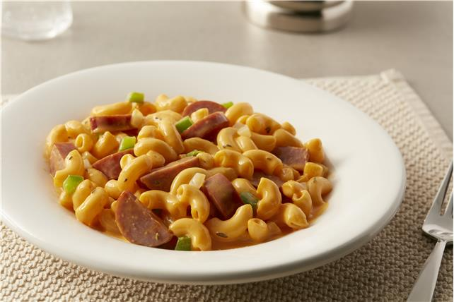 macaroni and cheese with smoked sausage kraft recipes