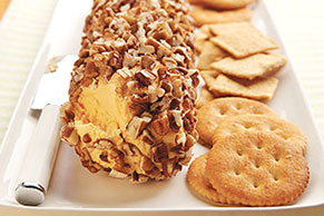 Nutty Cheese Log