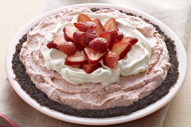 Tarte à la crème aux fraises facile à préparer Image 1