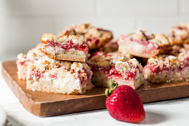 Coconut-Strawberry-Banana Bars