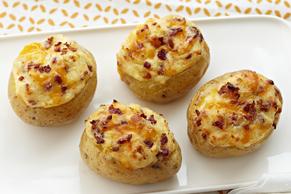 Make-Ahead All-Dressed Baked Potatoes