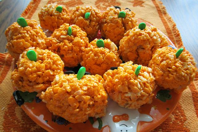 Pumpkin Crispies Image 1