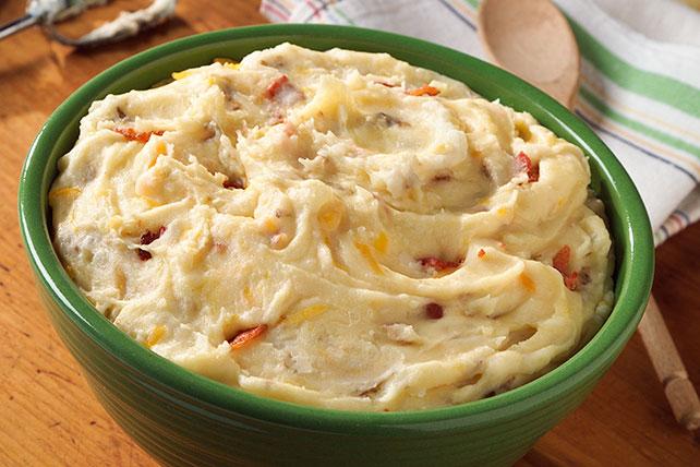 Puré de papas con tocino y queso cheddar Image 1