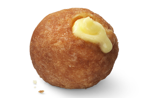 Pudding-Filled Donut Holes