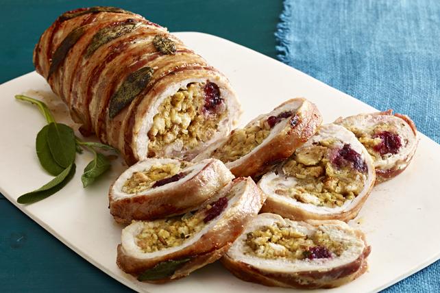 Bacon-Wrapped Turkey Roast Image 1