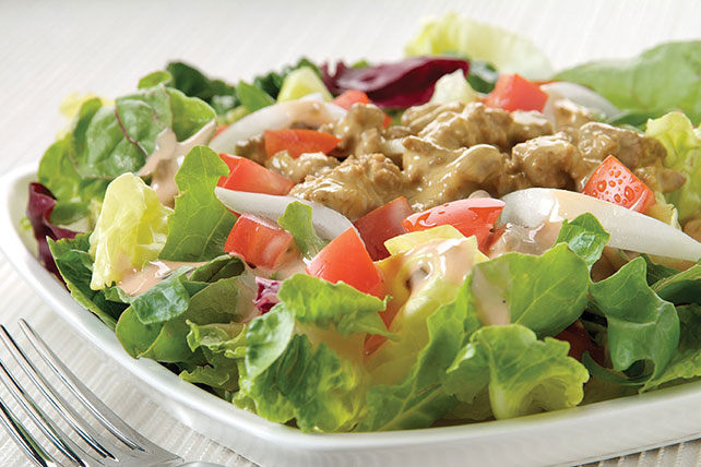 Cheesy Beef Salad Image 1