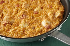Cheesy Mexican Chicken & Rice