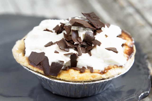 Tarte veloutée au chocolat facile à faire Image 1