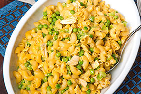 Cheesy Tuna Mac