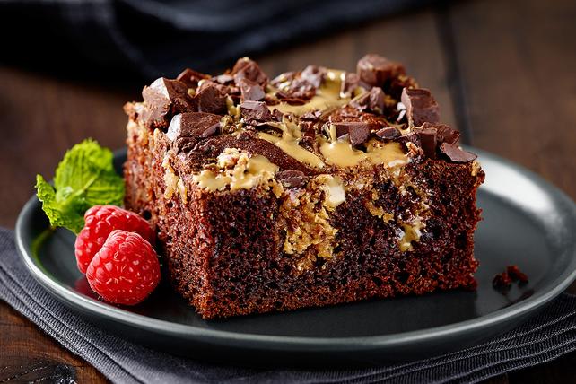 Gâteau au beurre d'arachide et au chocolat Image 1