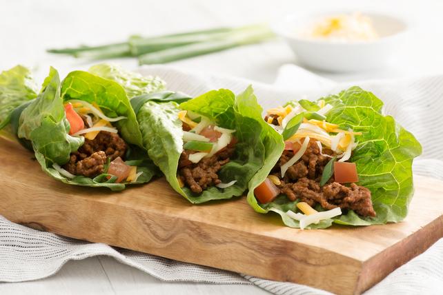 Rouleaux de laitue à saveur de tacos Image 1