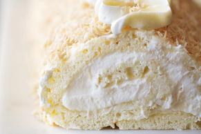 Creamy Coconut Cake Roll