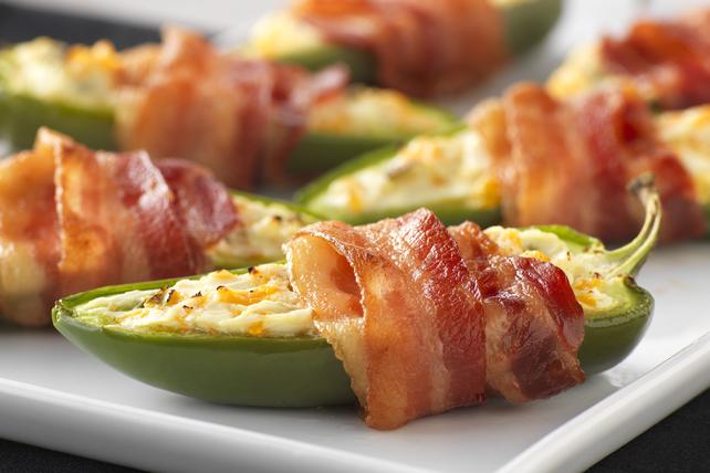 Bouchées de jalapenos enrobées de bacon Image 1