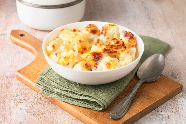 Easy Oven-Roasted Cheesy Cauliflower Image 1