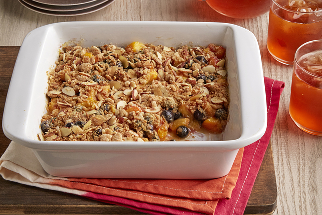 Quick Peach-Blueberry Crisp Image 1