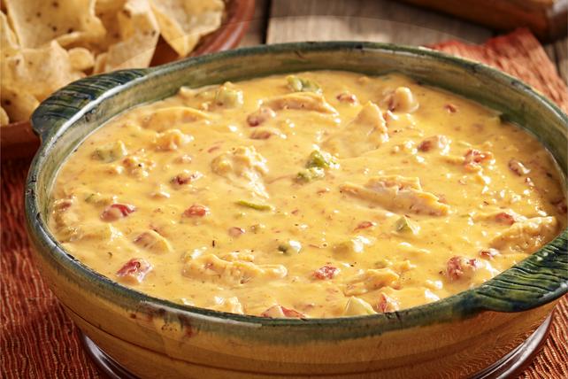 Fajita Chicken Queso Dip Image 1