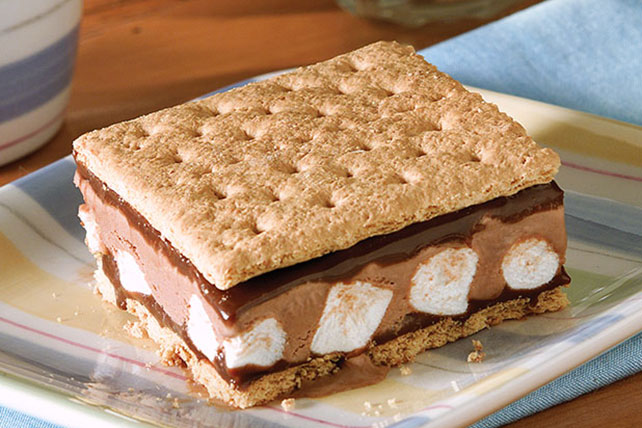 S'mores Ice Cream Bars