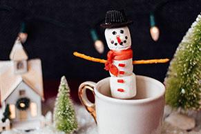 Snowman-on-a-Stick