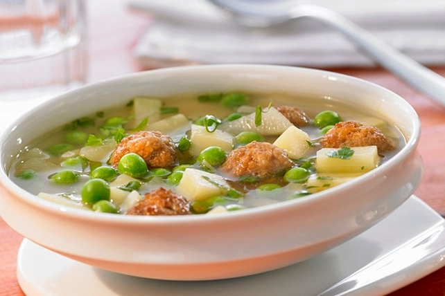 Easy Meatball Soup Image 1