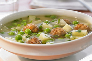 Easy Meatball Soup