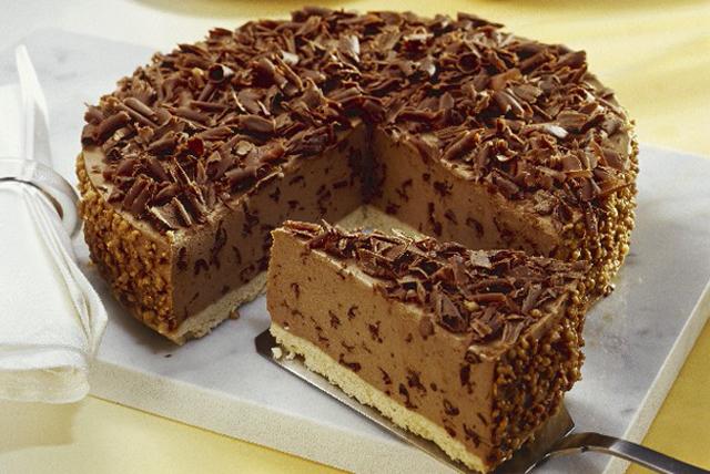 Chocolate Hazelnut Cheesecake Image 1