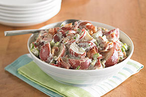 MIRACLE WHIP Rocking Bacon-Ranch Potato Salad