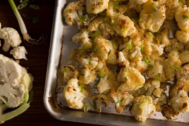 Cheesy Habanero-Roasted Cauliflower Image 1