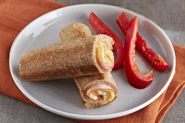 Rouleaux grillés au jambon et au fromage Image 1