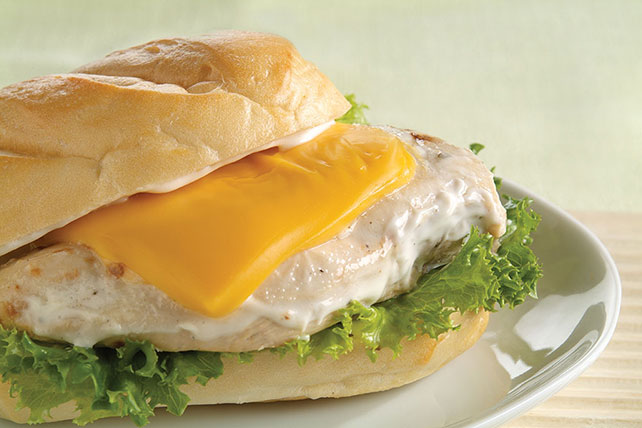 Cheesy Chicken Ranch Sandwiches Image 1