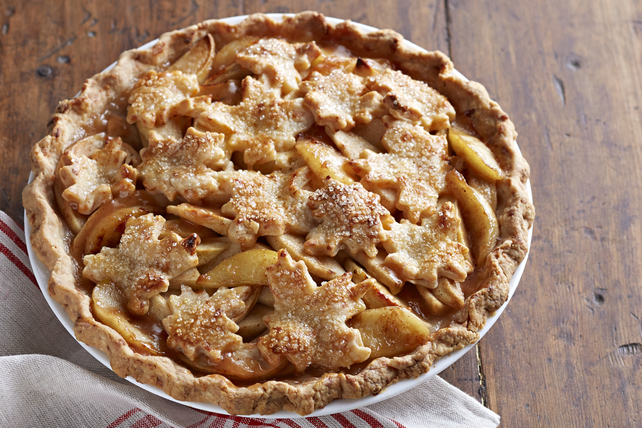 Tarte aux pommes à croûte fromagée Image 1