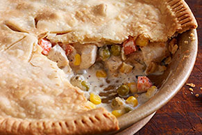 Zesty Chicken Pot Pie