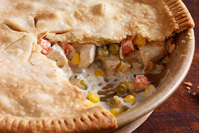 Homemade Chicken Pie