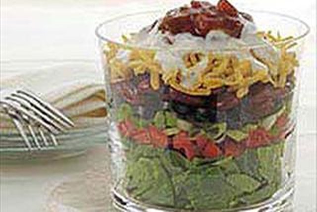 7-Layer Mexican Salad Image 1