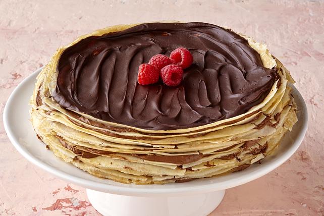 Chocolate Crêpe Cake Image 1