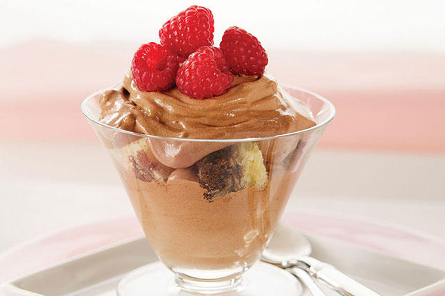 Chocolate-Berry Dessert Cups Image 1