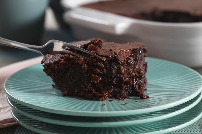 Peanut Butter & Brownie Dump Cake Image 1