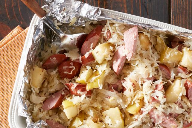 Roasted Sausage and Sauerkraut Image 1