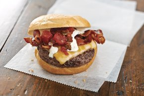 Southwest Ranch Cheeseburgers