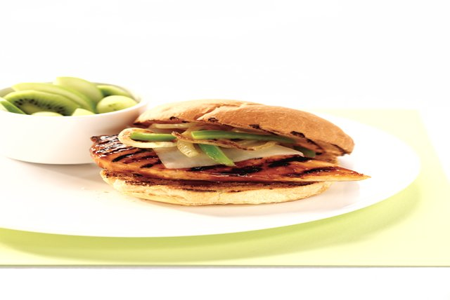 Grilled Mozza Chicken Sandwiches Image 1