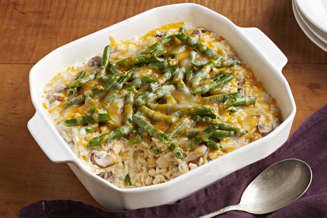 Casserole de haricots verts et de riz Image 1