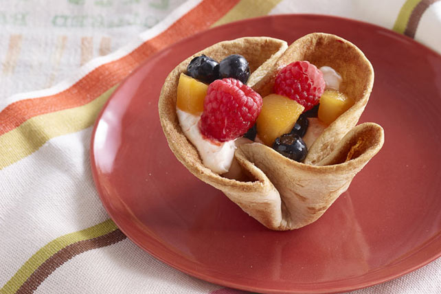 Coupes de tortilla aux fruits Image 1