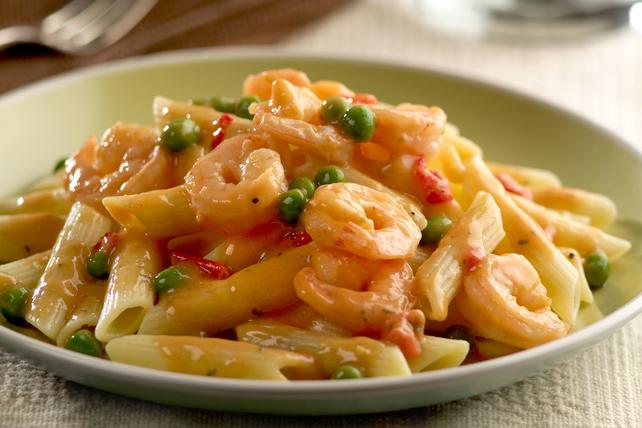 Creamy Alfredo Shrimp Scampi Image 1