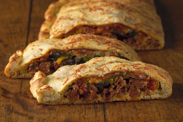 Our Favorite Italian Sausage Calzone Image 1