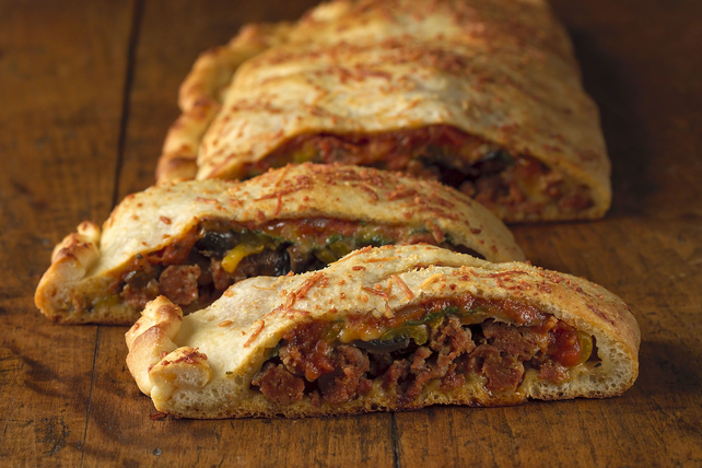 Italian Sausage Calzone Image 1