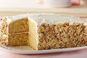 Banana-Sour Cream Cake