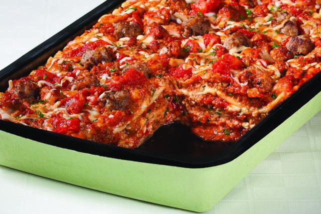 Sausage, Ricotta & Mozzarella Lasagna Image 1